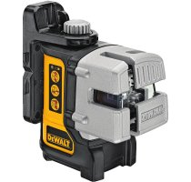 Laser se třemi paprsky DeWALT DW089KD s přijímačem