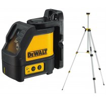 Samonivelační křížový laser se stativem Dewalt DW088KTRI