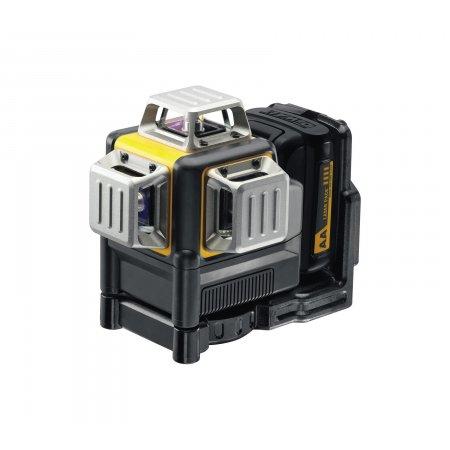 Křížový laser 10,8 V DeWALT DCE089LR - červený paprsek, solo