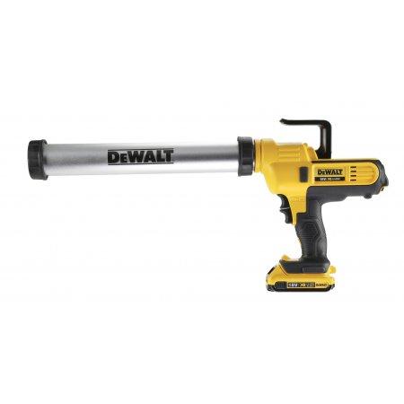 Pistole výtlačná DeWALT DCE580D1 18V XR 1 x aku
