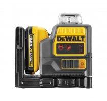 Křížový laser DeWALT DCE0811D1R, 10,8 V - červený paprsek 1 x aku