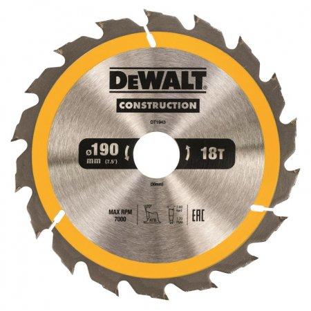 Pilový kotouč DeWALT CONSTRUCTION