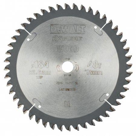 Pilový kotouč DeWALT EXTREME® 184x16 mm