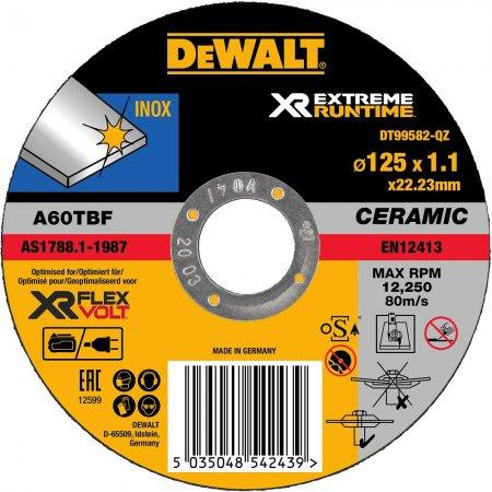 Řezný kotouč DeWALT XR Runtime Flexvolt Ceramic /bal.1ks/