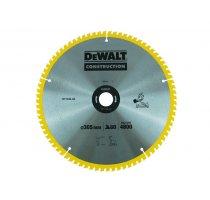 Pilový kotouč DeWALT CONSTRUCTION 305x30 mm