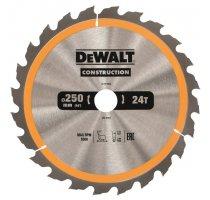 Pilový kotouč DeWALT CONSTRUCTION 250x30 mm
