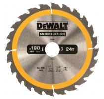 Pilový kotouč DeWALT CONSTRUCTION 190x30 mm