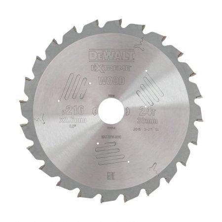 Pilový kotouč DeWALT EXTREME® 216 x 30 mm