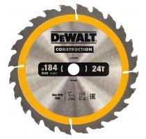 Pilový kotouč DeWALT CONSTRUCTION 184x16 mm