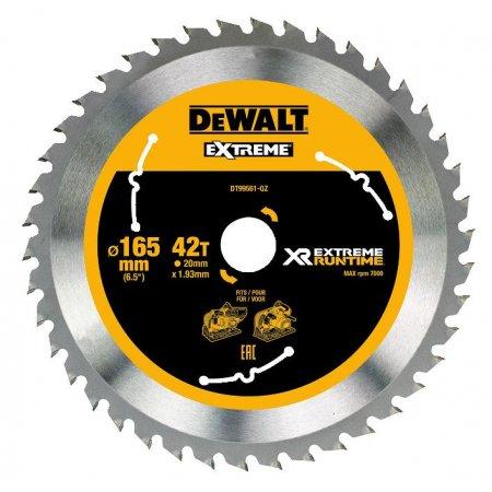 Pilový kotouč DeWALT XR EXTREME RUNTIME 165x20 mm