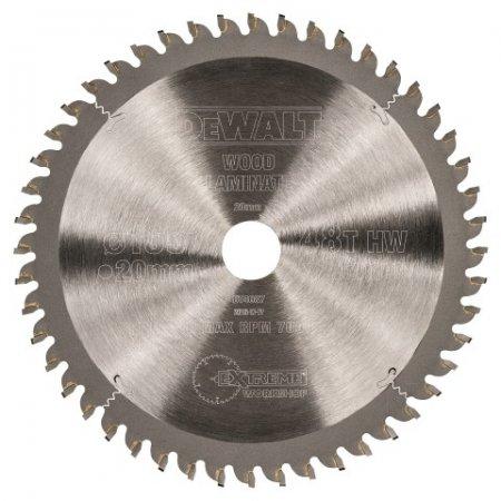 Pilový kotouč DeWALT EXTREME 165x20 mm