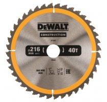 Pilový kotouč DeWALT CONSTRUCTION 216x30 mm