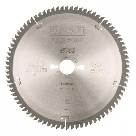 Pilový kotouč DeWALT EXTREME® 250 x 30 mm