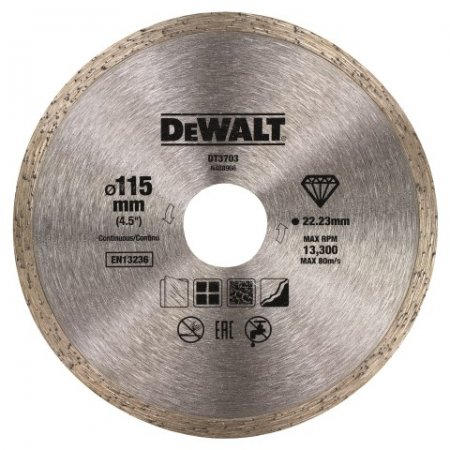 Diamantový kotouč DeWALT Professional Economy
