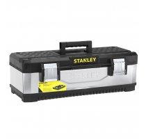 Kovoplastový box Stanley na nářadí - galvanizovaný 1-95-618