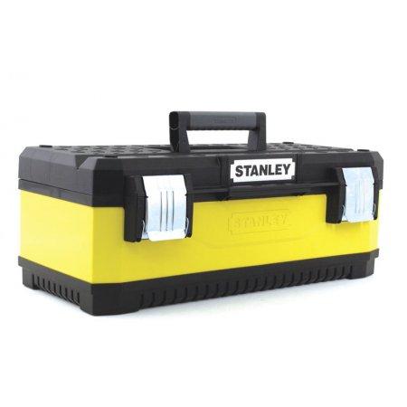 "Kovoplastový box Stanley na nářadí - žlutý, 26"" 1-95-614"