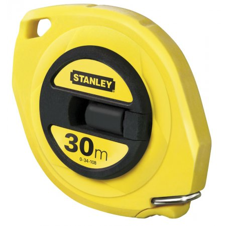 Pásmo Stanley uzavřené s ocelovou páskou 30m 0-34-108