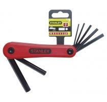 Nožová sada metrických zástrčných šestihranných klíčů Stanley 4-69-262
