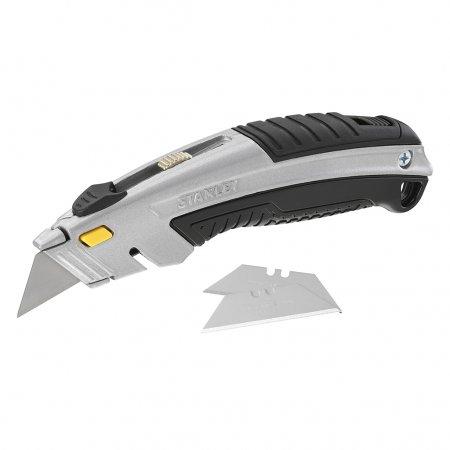 Kovový nůž Stanley se zasouvací rychle vyměnitelnou čepelí 0-10-788