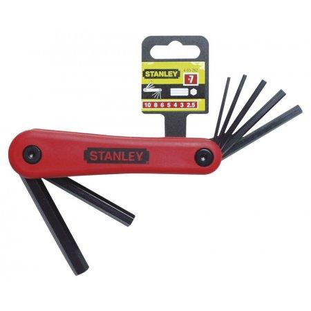 Nožová sada metrických zástrčných šestihranných klíčů Stanley 4-69-261