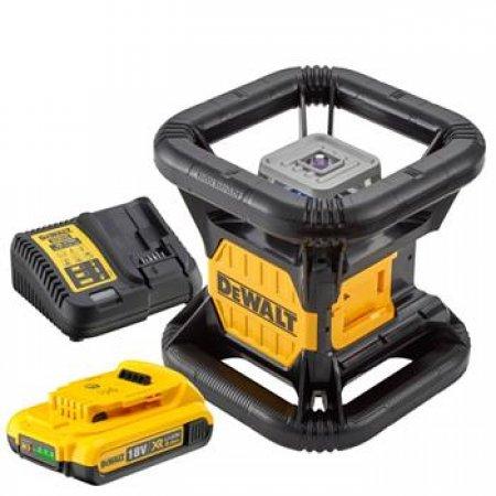 Aku samonivelační rotační laser Tool Connect Dewalt DCE080D1GS
